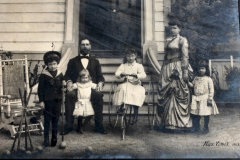 Emma's Family ca 1889 in Napa