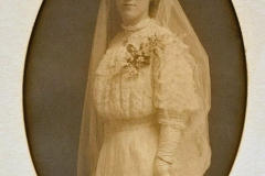 Emma DeBoom Witzel Sept 1907 wedding photo